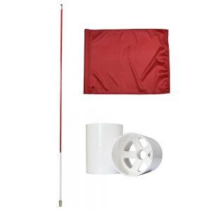 backyard golf flag set